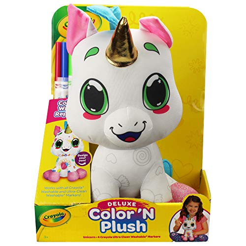 Crayola Deluxe Color 'N Plush - Unicorn