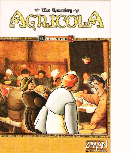 Agricola Belgium Deck Card Game