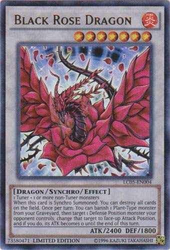 YU-GI-OH! - Black Rose Dragon (LC05-EN004) - Legendary Collection 5D's - Limited Edition - Ultra Rare