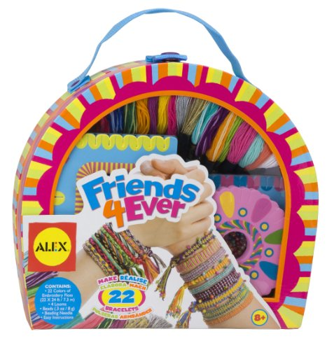Alex DIY Friends Forever Bracelet Kit Kids Art and Craft Activity