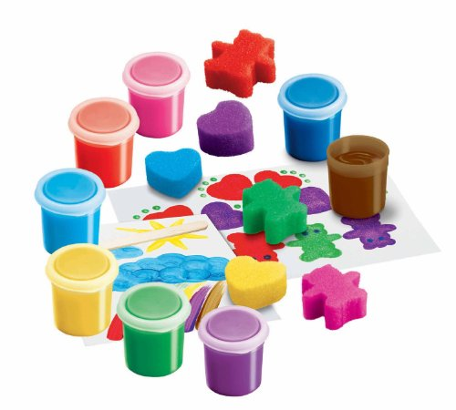 RoseArt Funtastic Fingerpaint Activity Kit