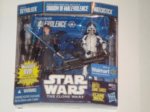 Star Wars Animated Exclusive 2 Figure Action Pack