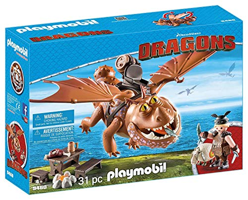 PLAYMOBIL How to Train Your Dragon Fishlegs & Meatlug