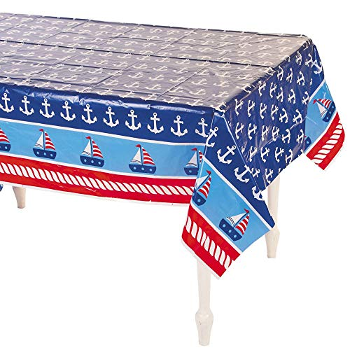 1ST SAILOR TABLECOVER - Party Supplies - 1 Piece