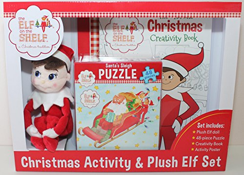 Elf On The Shelf Christmas Activity Set With Plush 10