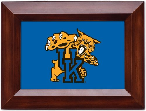 Cottage Garden University of Kentucky Woodgrain Digital Fight Song Music Box/Jewelry Box Plays On, On U of K