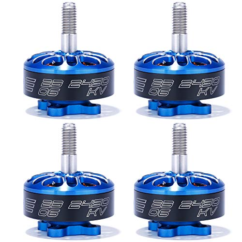 iFlight 4pcs XING-E 2306 2450KV Brushless Motor 4S for QAV FPV Racing Drone Quadcopter