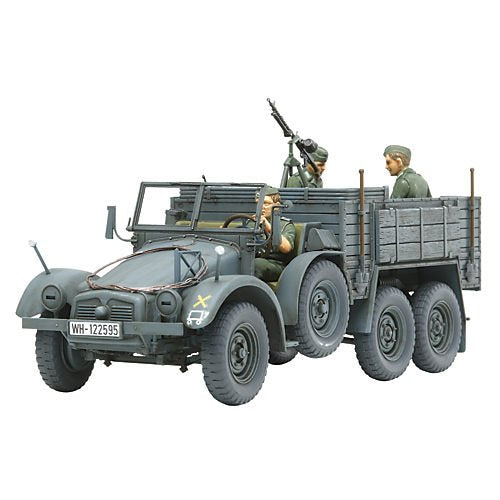 The Hobby Company Tamiya 300035317 Model Vehicle 1:35 WWII Krupp Protze (3) Personnel Carrier