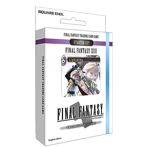 Square Enix Final Fantasy TCG XIII Starter Deck (Ice and Lightning)