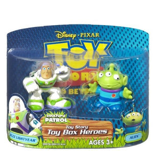 Toy Story Buzz Lightyear and Alien Box Heroes Figures