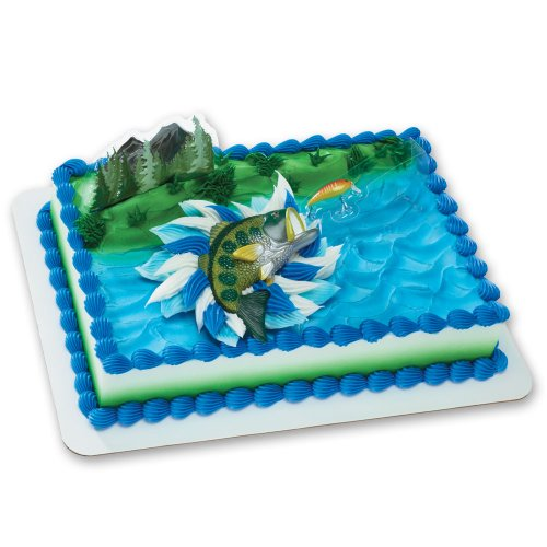 Catching the Big One DecoSet Cake Decoration