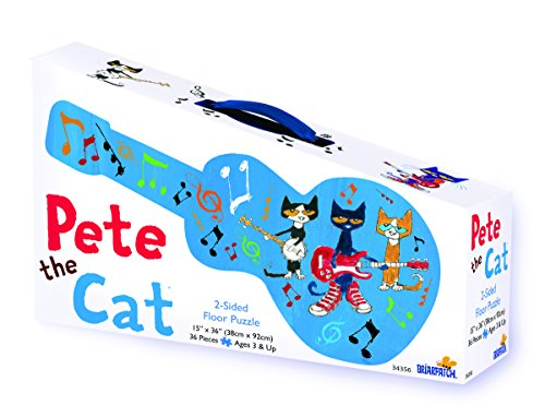 Pete the Cat 2-Sided Floor Puzzle