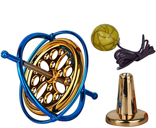 Joytech Precision Gyroscope Metal Anti-Gravity Spinning Top Balance Toy Educational Gift AG002