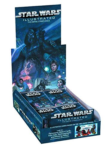 Star Wars The Empire Strikes Back Star Wars 2015 Illustrated Empire Trading Card Box (Topps)