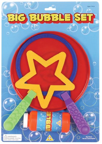 Toysmith Big Bubble Wand Set