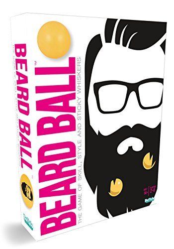 Beard Ball- The Party Game of Skill, Style, & Sticky Whiskers