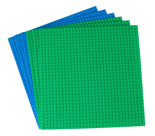 Strictly Briks 10x10 4 Packs (18 - 6 Pack Blue Green)