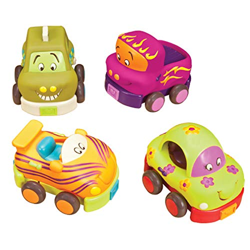 Battat B. Wheeee-ls! Soft Cars