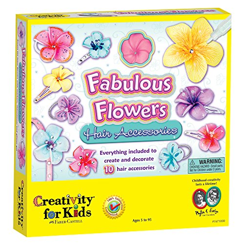 Creativity For Kids Fabulous Flowers Hair Accessories