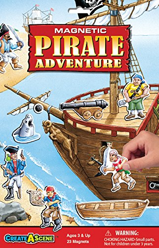 Create-A-Scene Magnetic Playset - Pirate Adventure
