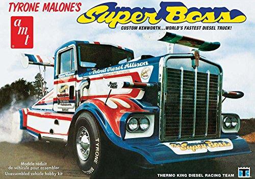 AMT AMT930 1:25 Sclae Tyrone Malone's - Kenworth Super Boss Drag Truck