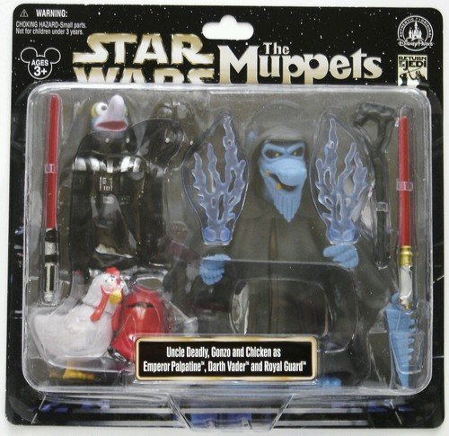 Disney Star Wars Weekends 2013 Muppets Uncle Deadly Gonzo Figure Darth Vader