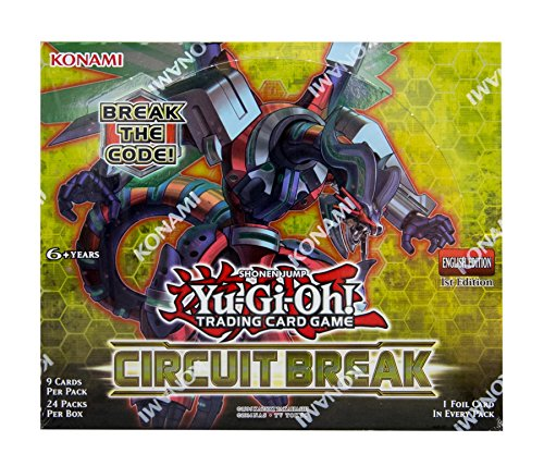 Yu-Gi-Oh CCG: Circuit Break Booster Display Box