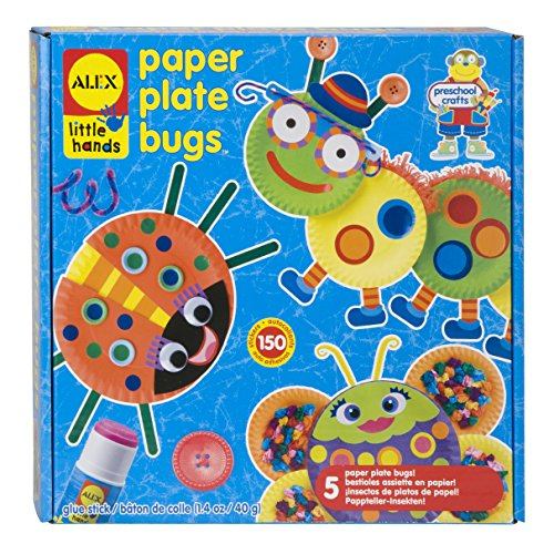 Alex Little Hands Paper Plate Bugs Kids Toddler Art and Craft Activity