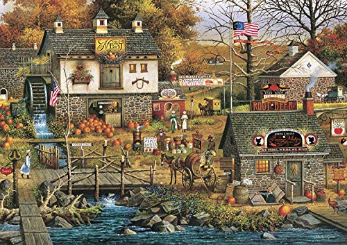 Buffalo Games - Charles Wysocki - Olde Buck's County - 300 Large Piece Jigsaw Puzzle