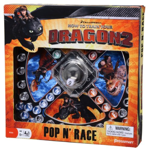 Pressman How to Train Your Dragon 2 Pop 'N' Race