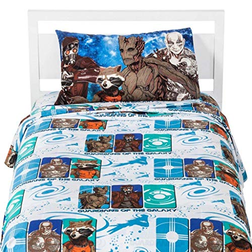 Marvel Guardians of The Galaxy 3 Piece Sheet Set- Twin