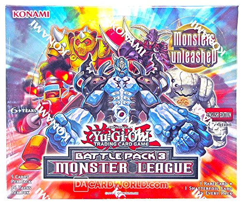 YU-GI-OH! Yugioh Battle Pack 3: Monster League Booster Box