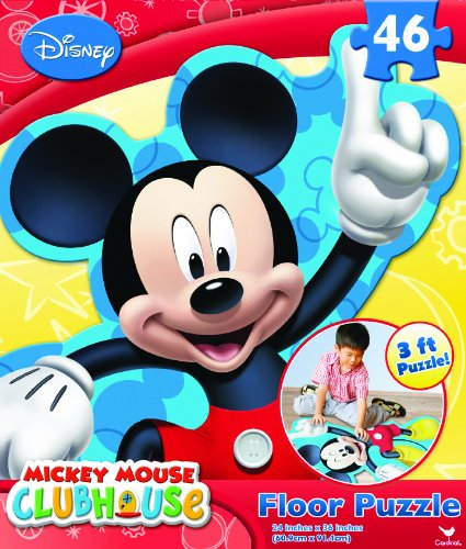 Mickey Club House Floor Puzzle, 46-Piece