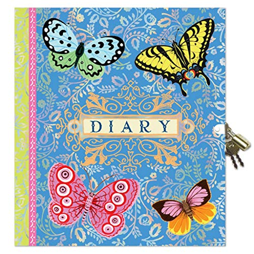 eeBoo Beautiful Diary with Lock and Key for Girls