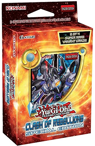 YuGiOh Clash of Rebellions: Special Edition - Mini Box