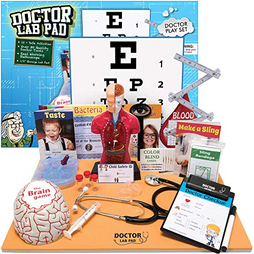 Ben Franklin Toys Doctor Lab Pad Biology Kit