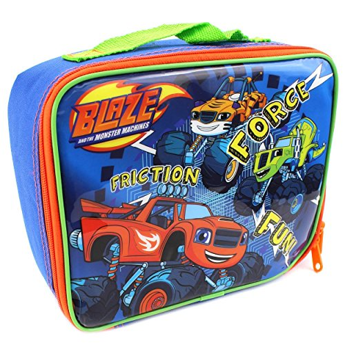 Nickelodeon Blaze and The Monster Machines Soft Lunch Box (Fun Blue)