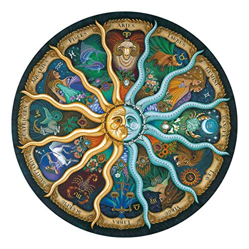 Ingooood-Jigsaw Puzzles for Adults 500 Pieces- Imagination Series- Zodiac Horoscope Puzzle Toys DIY Constellation Puzzles Graduation Gift