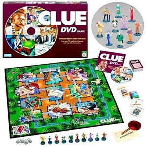 Hasbro Gaming Clue DVD Game