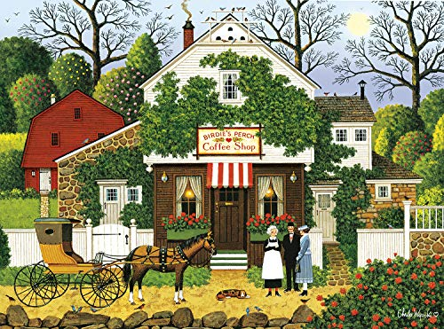 Buffalo Games - Charles Wysocki - Small Talk - 1000 Piece Jigsaw Puzzle