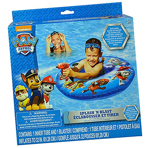 Paw Patrol Splash N Blast Swim Ring