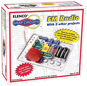 Snap Circuits Projecth Electronics FM Radio Discovery Kit Toys