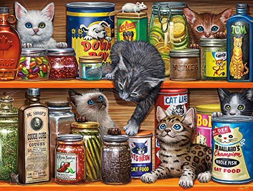 Buffalo Games - Spice Rack Kittens - 750 Piece Jigsaw Puzzle