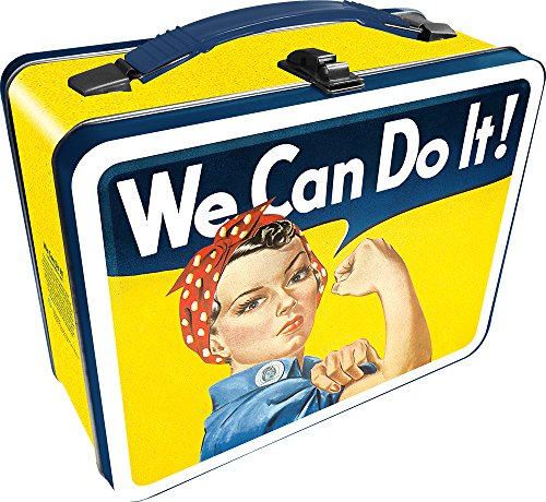 Aquarius Smithsonian Rosie The Riveter Gen 2 Tin Storage Fun Box