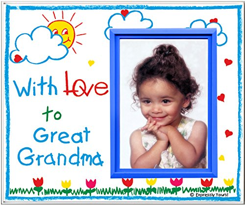 Expressly Yours! Photo Expressions with Love to Great Grandma! - Picture Frame Gift
