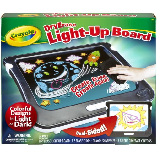 Crayola Dry Erase Light Up Board Drawing Set Age 5+
