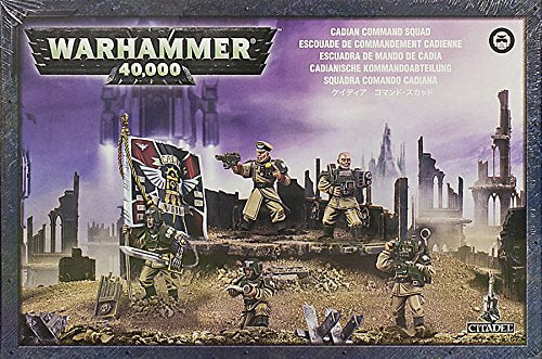Cadian Command Squad Plastic Warhammer 40K by Games Workshop