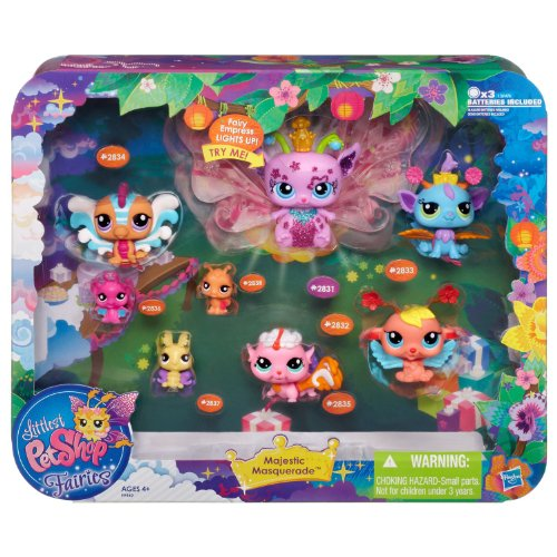 Littlest Pet Shop Walkables Exclusive Playset Black White Collection