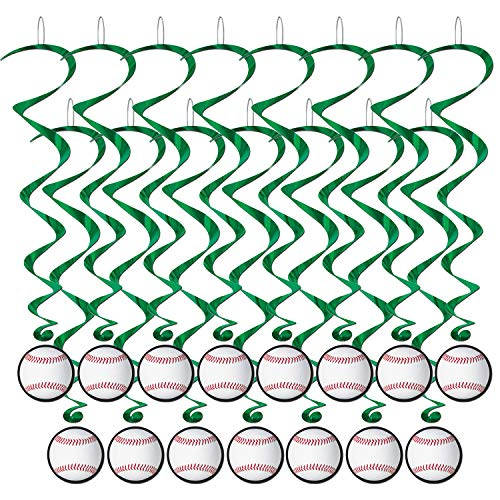 Baseball Whirls (5/Pkg) (3-Pack)