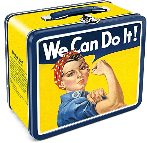 Aquarius Smithsonian Rosie We Can Do It Tin Large Tin Fun Box